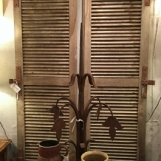 French oak shutters - SALE!