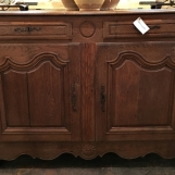 18th c. French buffet