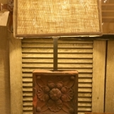 Terracotta tile lamps
