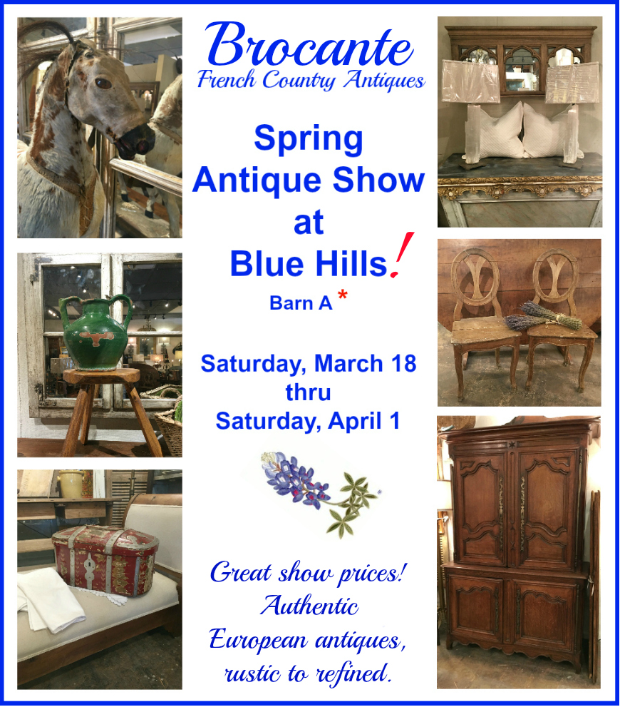 Brocante French Antiques at Round Top 2017