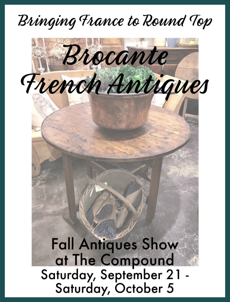 News | Brocante Map Of The Round Top Venues Fall on